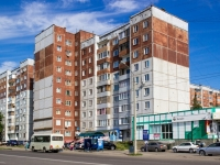 Барнаул, улица Энтузиастов, дом 34. многоквартирный дом