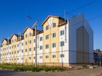 Барнаул, улица Геодезическая, дом 47. строящееся здание