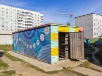 Барнаул, улица Шумакова. хозяйственный корпус