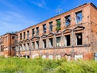 Барнаул, улица Мало-Олонская, дом 21. неиспользуемое здание