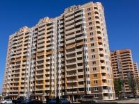 Краснодар, улица Архитектора Петина, дом 16. многоквартирный дом