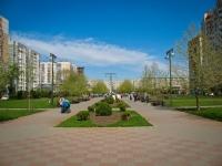 Krasnodar, public garden Платановый бульварChekistov avenue, public garden Платановый бульвар