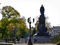 克拉斯诺达尔市, 纪念碑 Императрице Екатерине ВеликойKrasnaya st, 纪念碑 Императрице Екатерине Великой