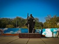 克拉斯诺达尔市, 纪念碑 Студентам, преподавателям и сотрудникам КубГТУ, погибшим в ВОВKrasnaya st, 纪念碑 Студентам, преподавателям и сотрудникам КубГТУ, погибшим в ВОВ