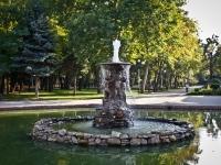 Краснодар, улица Постовая. фонтан