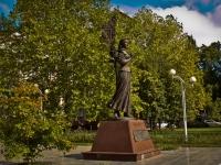 克拉斯诺达尔市, 纪念碑 Кларе ЛучкоPostovaya st, 纪念碑 Кларе Лучко