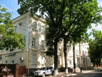 Краснодар, улица Орджоникидзе, дом 36. больница Клинический Госпиталь Для Ветеранов Войны