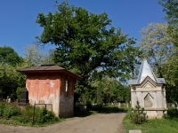 улица Рашпилевская. Всесвятское кладбище