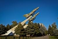 Краснодар, памятник Защитникам кубанского неба в годы ВОВулица Тургенева, памятник Защитникам кубанского неба в годы ВОВ