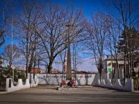 Краснодар, улица Совхозная. памятник неизвестному летчику