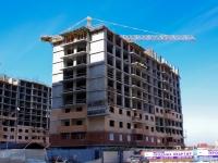Краснодар, улица Казбекская, дом 2. строящееся здание