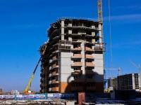 Краснодар, улица Казбекская, дом 3. строящееся здание
