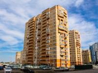 Краснодар, улица Казбекская, дом 15. многоквартирный дом