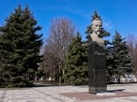 Краснодар, памятник Ф. Дзержинскомуулица Дзержинского, памятник Ф. Дзержинскому
