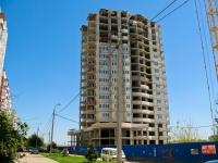 Краснодар, улица Рождественская набережная, дом 9/СТР. строящееся здание