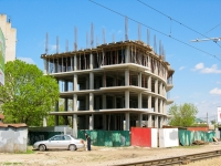 Krasnodar, Uritsky st, house 6/1. building under construction