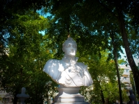 Краснодар, памятник М.С. Воронцовуулица Красина, памятник М.С. Воронцову