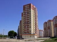 Краснодар, улица Аверкиева, дом 2. многоквартирный дом