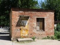 Краснодар, улица Волжская. неиспользуемое здание