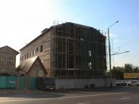 Краснодар, улица Ялтинская. строящееся здание