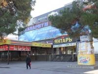 Геленджик, улица Революционная, дом 11. торгово-развлекательный комплекс Янтарь