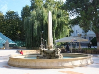Gelendzhik, fountain ЕгипетскийLenin st, fountain Египетский
