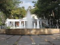 Геленджик, Лермонтовский бульвар, фонтан
