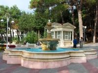 Gelendzhik, Lermontovsky Blvd, fountain