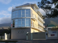 Геленджик, гостиница (отель) 222, улица Луначарского, дом 222