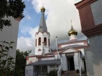 улица Горная, дом 17. храм Свято-Преображенский