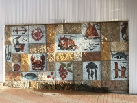 格连吉克市, Mayachnaya st, 装饰板