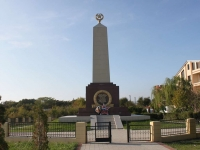 Геленджик, улица Десантная. памятник Героям черноморцам
