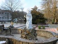 Goryachy Klyuch, 喷泉 Дева с кувшиномPsekupskaya st, 喷泉 Дева с кувшином