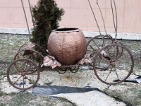 Goryachy Klyuch, 小建筑模型 Карета ЗолушкиLenin st, 小建筑模型 Карета Золушки