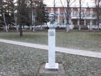 Горячий Ключ, памятник М.М. Корницкомуулица Ленина, памятник М.М. Корницкому