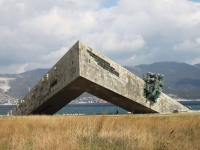 Novorossiysk, memorial complex Малая земляNaberezhnaya admirala Serebryakova st, memorial complex Малая земля