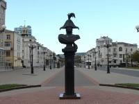 Новороссийск, улица Новороссийской Республики. памятник М.П. Лазареву