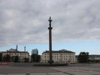 Новороссийск, улица Набережная Адмирала Серебрякова. стела Морской славы России
