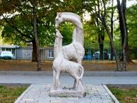 Новороссийск, улица Толстого. малая архитектурная форма Жирафы