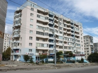 Novorossiysk, Kunikov st, house 21. Apartment house with a store on the ground-floor