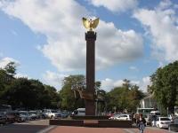 Новороссийск, улица Новороссийской Республики. стела Новороссийская республика