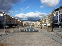 Новороссийск, улица Новороссийской Республики. фонтан