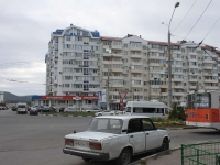 Novorossiysk, Dzerzhinsky avenue, house 219. Apartment house with a store on the ground-floor