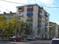 Новороссийск, улица Новороссийских партизан, дом 12. многоквартирный дом