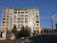 Novorossiysk, Sakko i Vantsetti st, house 24. Apartment house with a store on the ground-floor