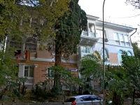Sochi, Voykov st, house 22. Apartment house