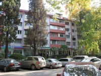 Sochi, Vorovskoy st, house 18. Apartment house with a store on the ground-floor