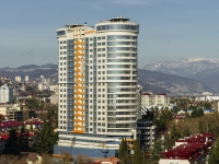 索契市, Vorovskoy st, 房屋 41. 建设中建筑物