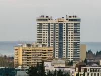 Sochi, Vorovskoy st, house 41. building under construction