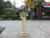 улица Егорова. скульптура Античные борцы